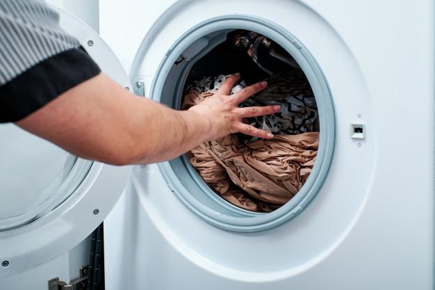 lavar roupa de cama