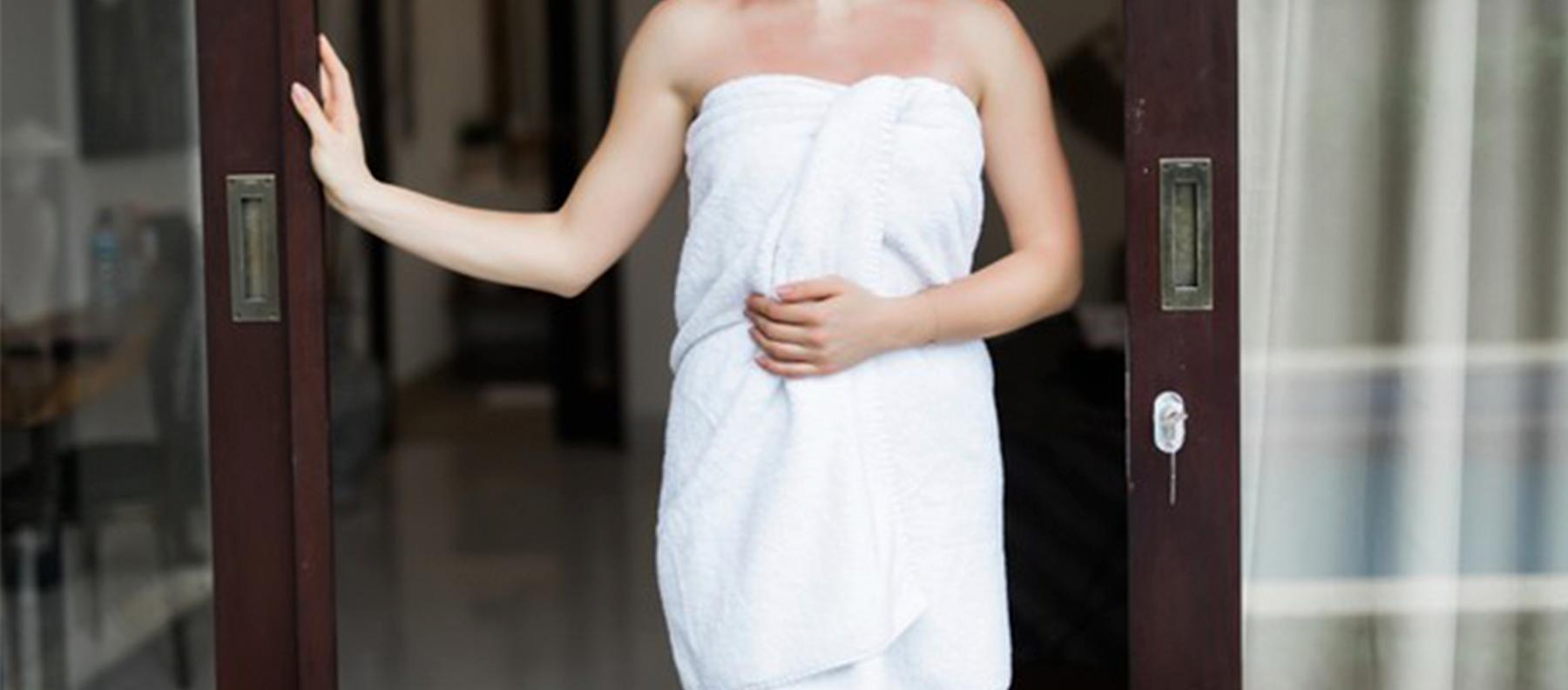 como escolher uma toalha